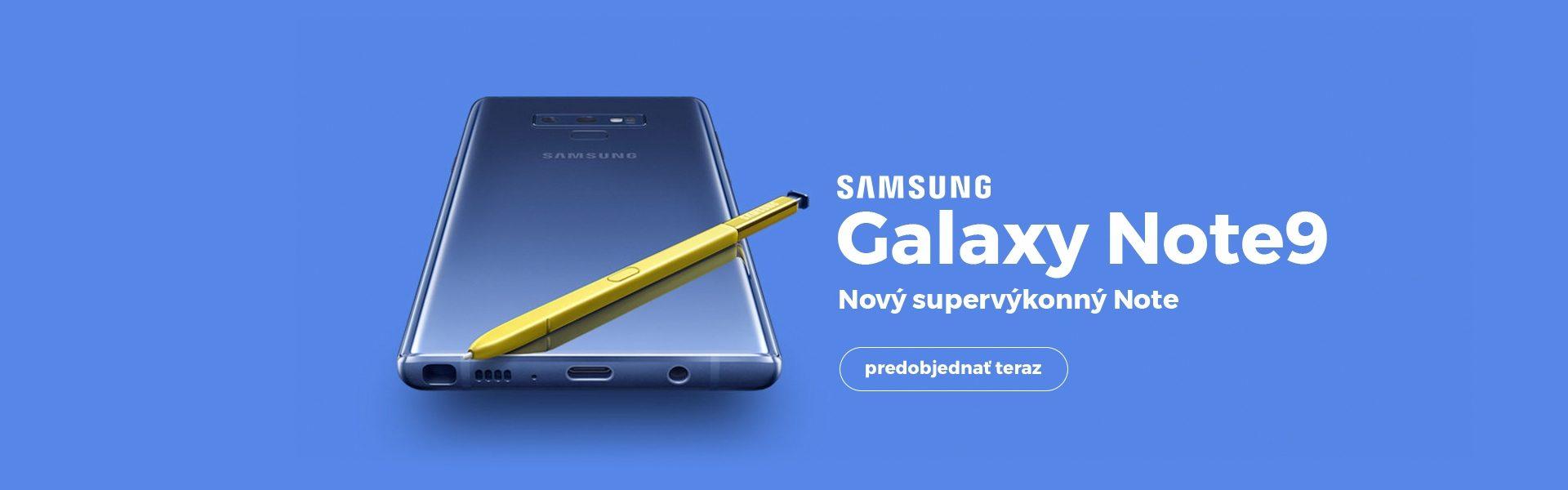 Samsung Galaxy Note 9 - Slider Webbanners - Duntel