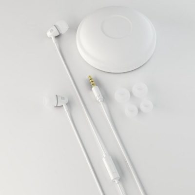 Sturdo stereo headset slúchadlá, 3.5mm, biele | Duntel