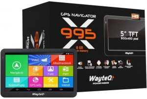 Wayteq X995 navigacia | Duntel